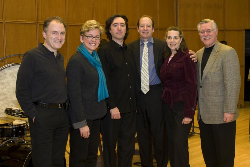 After the ICS Concert:First Gentleman Dan Mulhern, Governor Jennifer Granholm, D